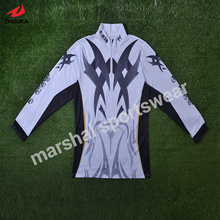 OEM team sportswear polyeater full sublimation printed sports team jackets with long pants custom jacket maker
