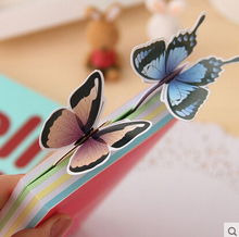 Novelty Vivid Butterfly Paper Bookmark Exquisite Gift Bookmark Wholesale