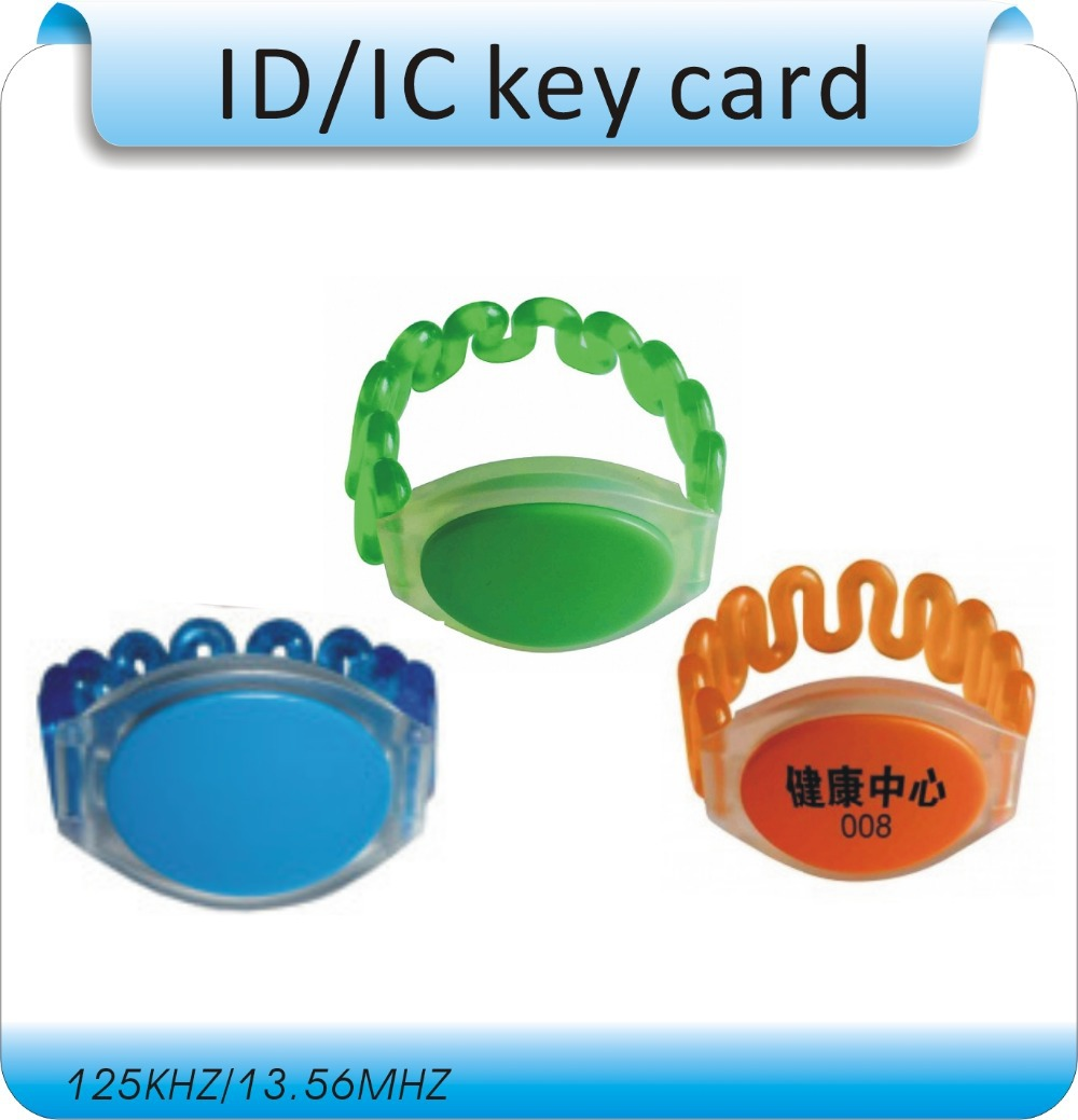 10pcs Health professionals hand electronic lock key lockers RFID Wristband/RFID 13.56MHZ frequency s-50 chips<br><br>Aliexpress