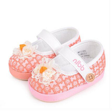 Toddler Soft Sole Baby Girl Shoes Polo Sapato Infantil Menino Baby Barefoot Slippers Summer Shoes Children Rubber Boots 503198(China)