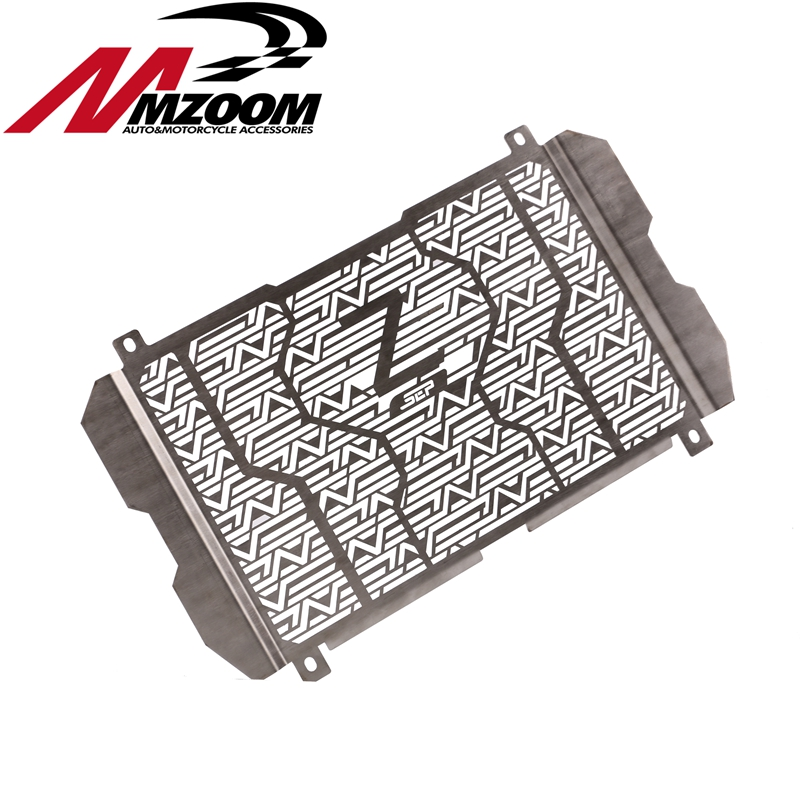 Motorcycle Stainless Steel Radiator Guard Radiator Grille guard protector For KAWASAKI Z900 2017<br>
