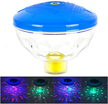 Battery Powered Underwater Fountain Light Disco Spa Bathtub Light Swimming Pool Float lamp Pond Fish Tank Aquarium LED Light