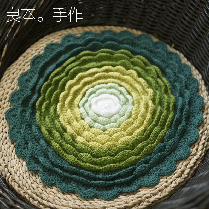 hot sale DIY 3D sofa mat outdoor Tea Ceremony Hand...