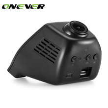 Onever HD 1080P Hidden Mini Wifi Car DVR Rear Camera Vehicle Camera Video Recorder Dash Cam Night Vision Dual Lens App Control(China)