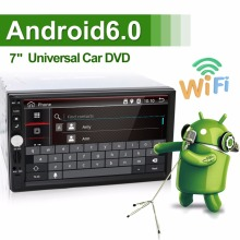 2 Din General android 6.0 Car Models 7'' inch LCD Touch Screen Car Radio Player Bluetooth Car Audio Support Rear View Camera
