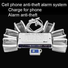 Retail Mobile Phone Anti-lost Device Alarm System for Cell Phone Retail Security Display with Charge function