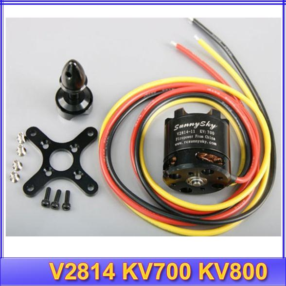 1pcs SUNNYSKY V2814 KV700 KV800 Outrunner Brushless Motor for Quadcopter<br>
