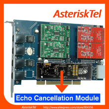 TDM410P with 2 FXO+2 FXS card with Hardware Echo Canceller- Asterisk card sangoma PCI FXO FXS For pabx phone fxo voip telephone(China)