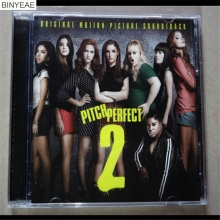 BINYEAE- new CD seal: (pitch perfect 2) CD disc [free shipping](China)