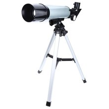 F36050M Single-tube Telescope Astronomical Landscape Lens Beginners Outdoor Monocular Portable Tripod Spotting Scope 360/50mm