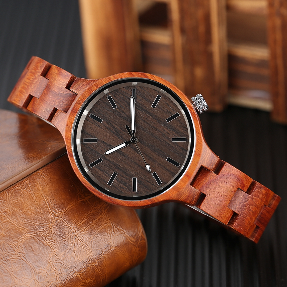 Creative Women's Fashion Wood Watches Women Handmade Bamboo Wristwatch Full Wooden Strap Novel Quartz Watch Relogio Feminino HOT 2017 Rich Women (9)