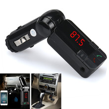 Hot Car Electronics Accessories Dual USB Car Kit Charger Wireless Bluetooth CSR 2.1 Stereo MP3 Player FM Transmitter Wholesale