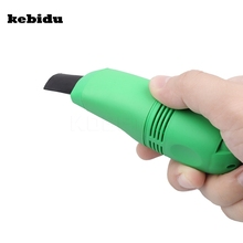 kebidu Computer Keyboard Vacuum Cleaner Mini USB Vacuum Keyboard Cleaner Dust Machine For Computer Laptop PC(China)