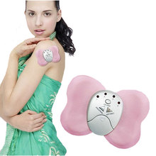 Butterfly Design Losing Weight Burning Fat Slimming Body Massager Electric Vibrator Muscle Massageador(China)
