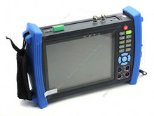 Free shipping!Portable 7 inch LCD,VGA CCTV camera input PTZ tester HVT-3600M Multimeter