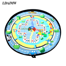 Portable Waterproof Kids Children Infant Baby Play Mat Large Storage Bags Toys Organizer Blanket Rug Boxes Outdoor Pad