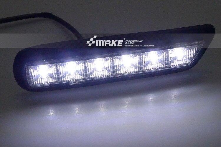 Free shipping !! LED DRL led daytime running light for MITSUBISHI OUTLANDER SPORT RVR ASX 2010-2012 2pcs dar for Mitsubishi ASX <br>