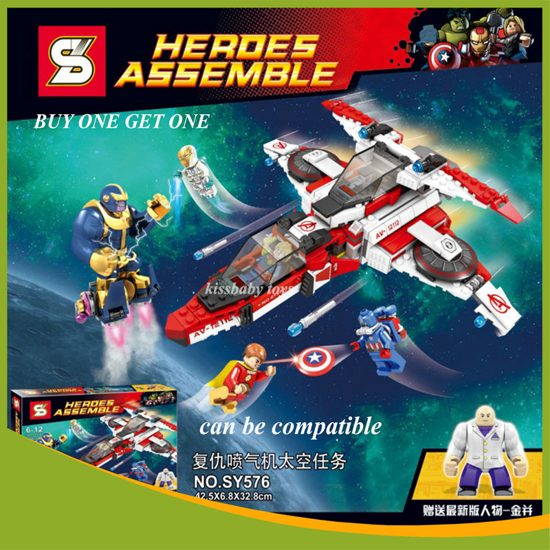 SY576 Heroes Assemble  Super Heroes Revengers Model Building BLock Sets Compatible legoe Can be Combined Deformation<br><br>Aliexpress