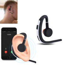 New Fashion Bluetooth Earphone Sweatproof HIFI Stereo Headset Wireless Hands Free Business Headphone with Mic for Mobile Phone(China)