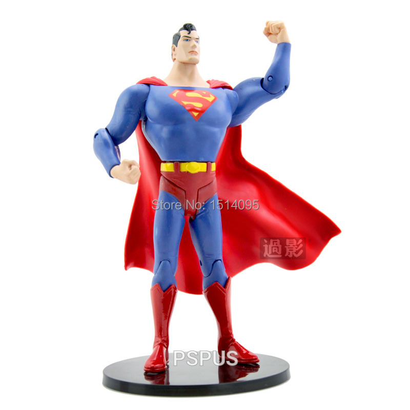 7 inches Promotion Toys New DC Comics Superman Super Man  Loose Action Figure Toy Model SM004<br><br>Aliexpress