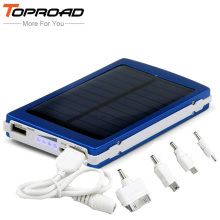 Portable Solar Charger Power Bank 10000mah External Mobile Battery Backup Powerbank bateria externa for iPhone PC MP3 PSP Camera