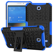 For Samsung Galaxy Tab 4 7.0 T230 T231 Tablet case Defender Rugged TPU+PC Armor Dazzle Shockproof KickStand Cover Protector(China)