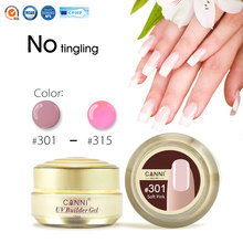 #50951 CANNI Nail Art Beauty Gel Semi Transparent Builder Gel Nail Extension Camouflage UV Jelly Gel(China)