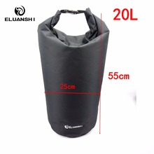 20L New Dry Waterproof Bag kayak in rowing boats Surfing accessories marine water sports Drifting Swimming pool diving mask surf(China)