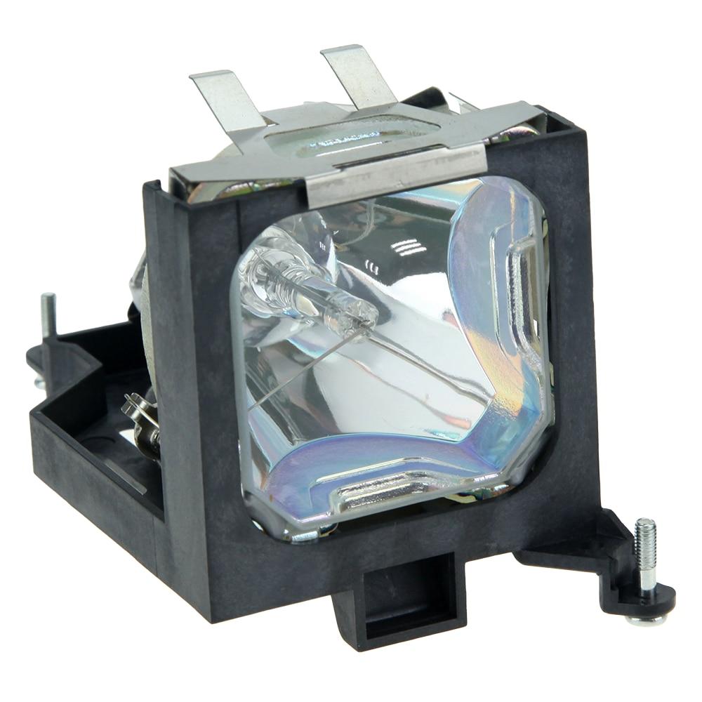 Compatible Projector lamp POA-LMP57 for PLC-SW30 PLC-SW30C PLC-SW35C PLC-SW35 PLC-SW36 Projectors with housing  HAPPY BATE<br>