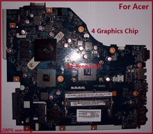 Laptop motherboard for ACER 5250 5253 GATEWAY NV51B JE50 LA-7092P 4 Graphics Chip full test 100% working