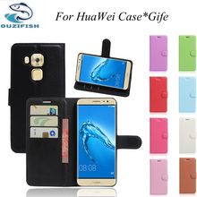 Luxury Phone Carcasa Case For Huawei Y3 Y5 II Y6 II P6 P7 P8 P9 LITE/MINI plus Flip Cover Wallet PU Leather Bags Skin With Stand