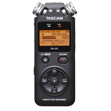 Original Tascam dr-05 Handheld Portable Digital Voice Recorder MP3 Recording Pen,SLR micro recording Version 2 with 4GB micro SD