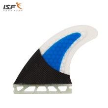 Free shipping surfboard fins carbon fiber blue honeycomb Quilhas future surf fins future G5 pranchas de surf G5(China)