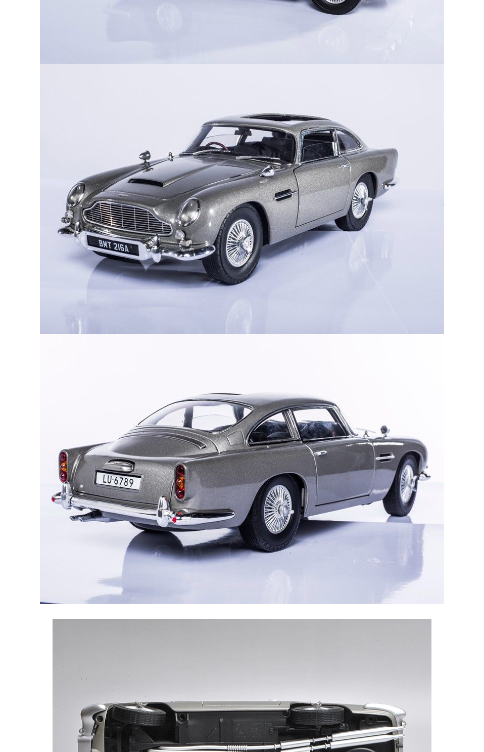 1 18 scale car models 2-4 Years james bond 007 collectables Aston Matin DB5 Diecasts & Toy Vehicles Model Toys For Gifts (9)