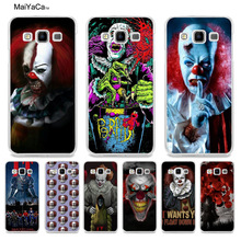 MaiYaCa Pennywise The Clown Horror Diy Printing Drawing phone case for Samsung A5 A3 A7 2016 A8 A9 2015 Note 4 Note 5(China)