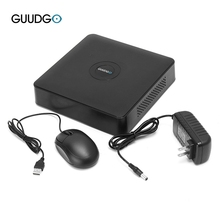 GUUDGO GD-NR01 1080P 4 8 12CH Wireless 2.5 ONVIF Network Video Recorder NVR P2P for IP Security Camera with Mouse + Power Supply(China)
