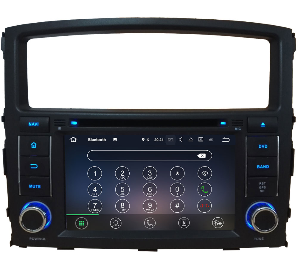 "7"" Quad Core Android 7.1 2GB RAM 4G Audio DAB+ BT Car DVD Player Radio GPS Navi Stereo For Mitsubishi Pajero V97 V93 2006-2016"
