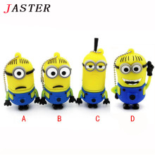 JASTER Despicable Me cartoon Minions USB 2.0 Flash Drive 4G 8G 16G U Disk Pendrive/Memory Stick/Disk/pen drive/Gift