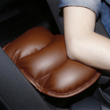 Car Auto Center Console Car Armrests Cover Pad Vehicle Center Console Arm Rest Seat Pad for VW Mercedes-Benz Audi BMW Most Cars