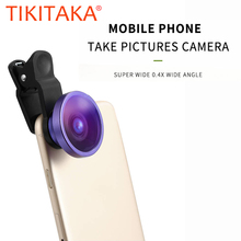 Mobile Phone Lens 0.4X Super Wide Angle Lenses 34mm Digital High Definition For iphone 6 5s xiaomi redmi note 3 pro 2 Camera