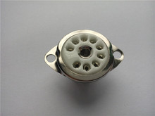 15pcs ceramic tube socket Small 9 pin scaffolding GZC9-C tube holder for 12au7 12ax7(China)