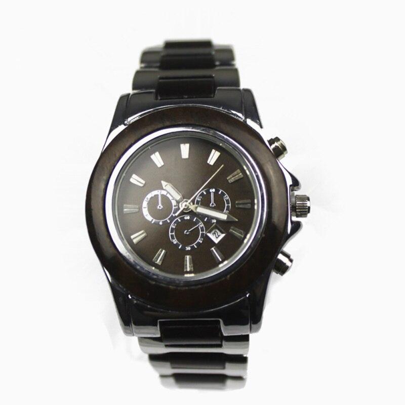 1pc Wooden Watches men student male watches wrist clock Quartz Wristwatches Watch Gift round shape glass analog H5<br><br>Aliexpress