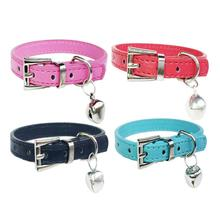 Pet Dog Collar Hot Cute Bell Collar Small Dog Collar Cat Collars Necklace XS 2AU4