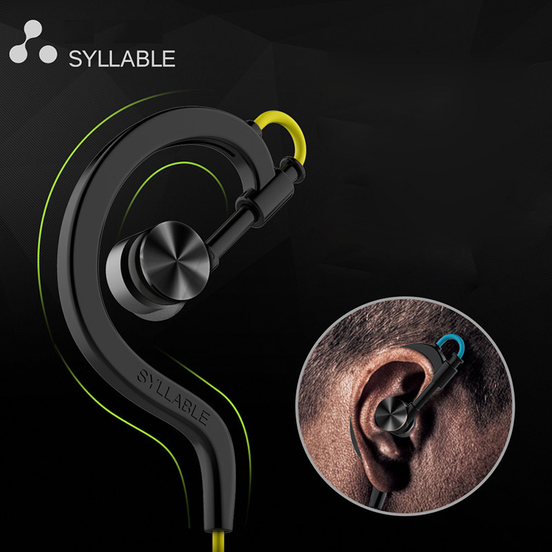 Original Bluetooth Headset Syllable D700 Sweat Proof Sport Earphone Cordless Earpiece Noise Cancelling Stereo Wireless Earbuds <br>