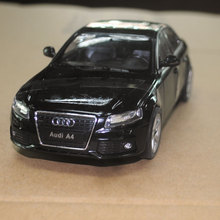 WELLY 1/24 Scale Germany AUDI A4 Diecast Metal Car Model Toy New In Box For Collection/Gift/Kids/Decoration