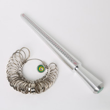 New US EU Standard Ring Sizer Mandrel Stick Finger Gauge Ring Measuring Sizes Jewelry Tool & Equipments