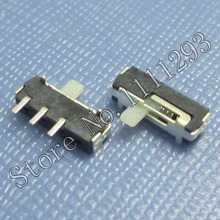 10pcs/lot Horizontal Slide Switch 3Pin SMD for Latop Tablets etc Bluetooth / WLAN / Power switch(China)