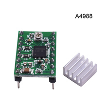 5pcs Bigtree4988 stepper motor drive Stepstick MAX2A with heat sink compatible with A4988 support MAX 128 micro step(China)