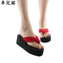 new summer shoes women sandals fashion wedges flip flops platform slipper woman beach slides casual cheap shoes black red