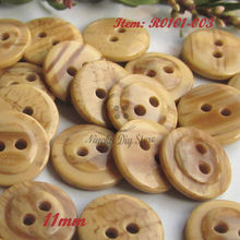 Sewing supplies 144pcs 11mm imitation wood grain shirt buttons suit casual wear pad buttons sewing material wholesale